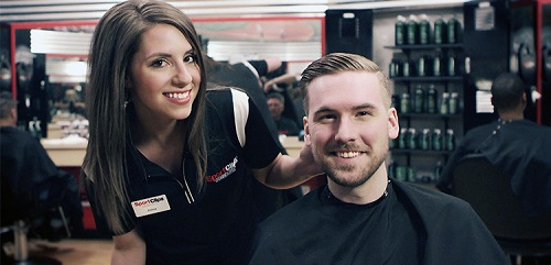 Sport Clips Haircuts of Padre Commons Plaza​ stylist hair cut